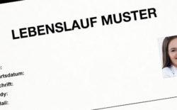 Vzor životopisu v německém jazyce