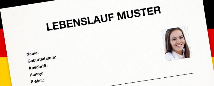 Vzor Zivotopisu V Nemeckem Jazyce Kariera V Kostce Profesia Cz