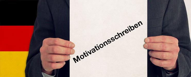 Bewerbungsschreiben - motivační dopis v německém jazyce